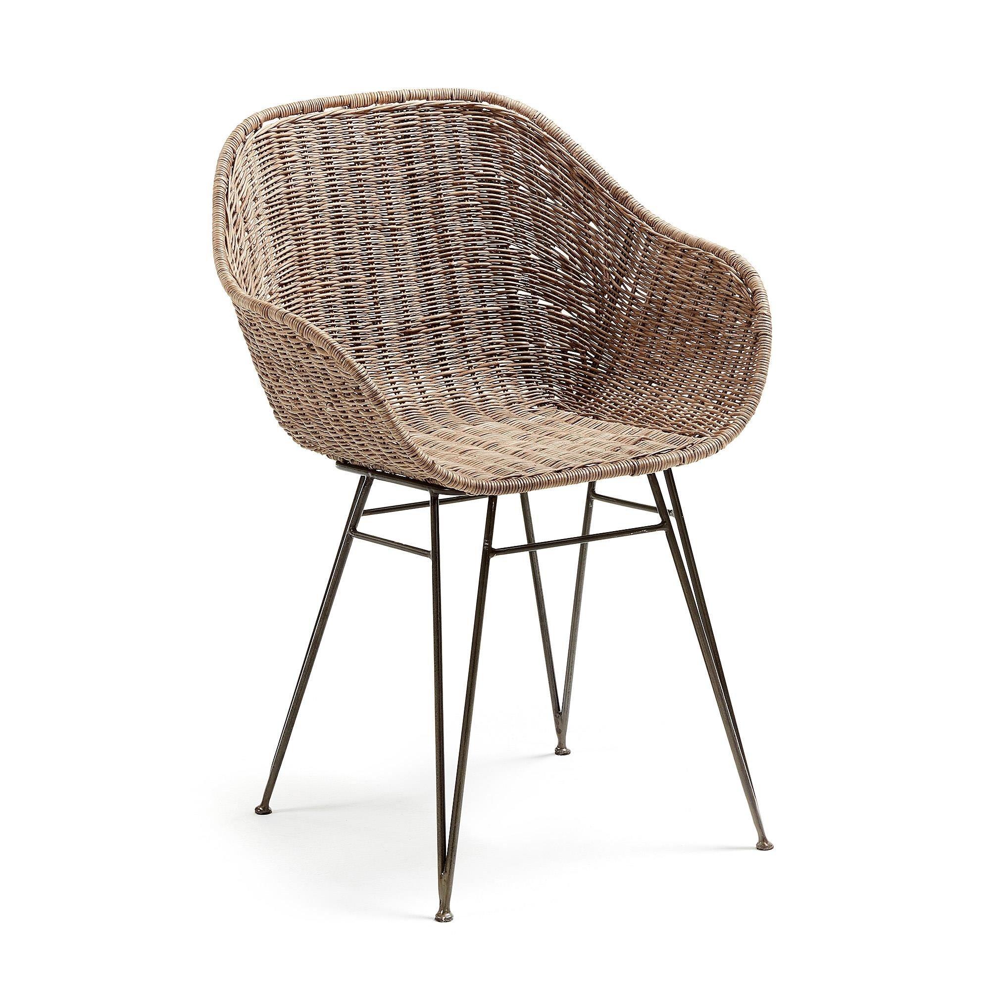 Krzesło CHANTA z podłokietnikami
