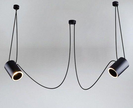 Shilo :: Lampa wisząca DUBU 2 czarna