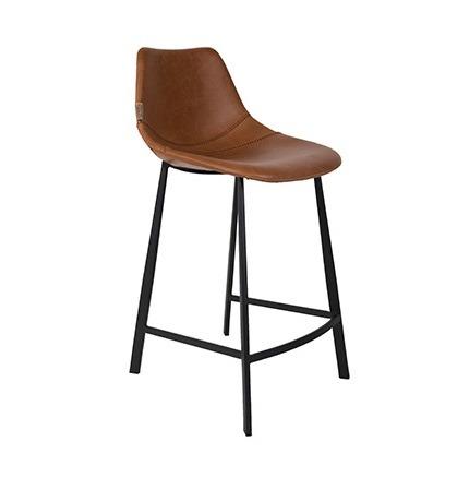 Dutchbone :: Hoker / Krzesło barowe Franky - brązowe