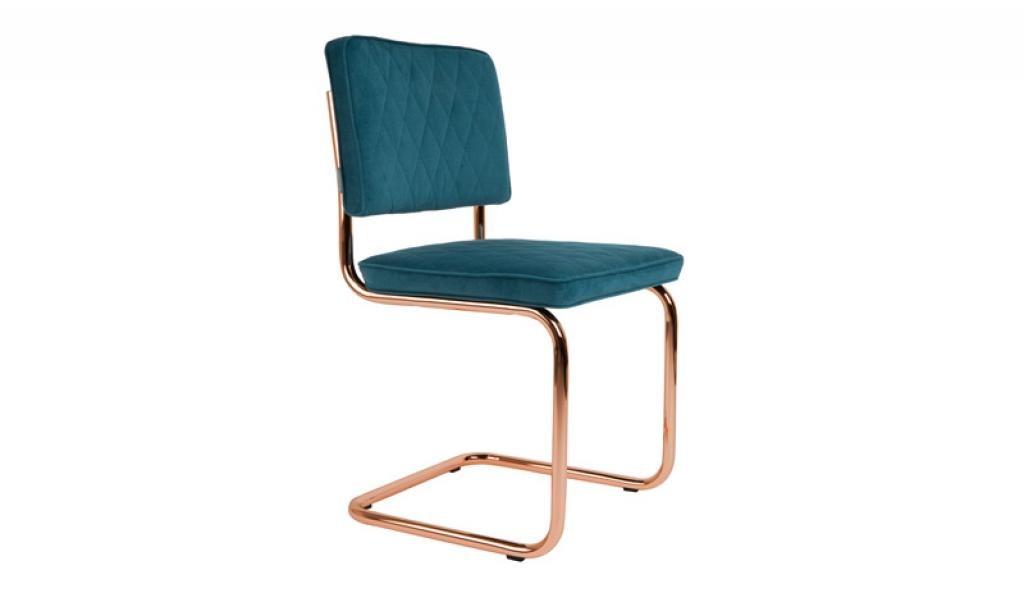 Zuiver :: Krzesło DIAMOND - niebieskie