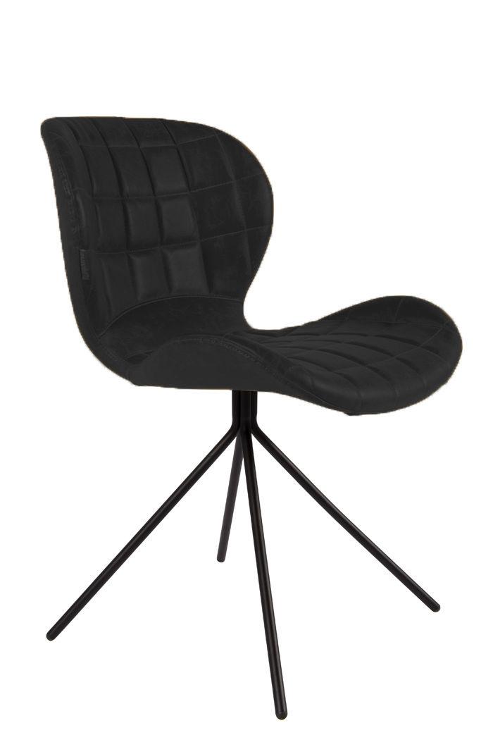 Zuiver :: Krzesło OMG LL Czarne