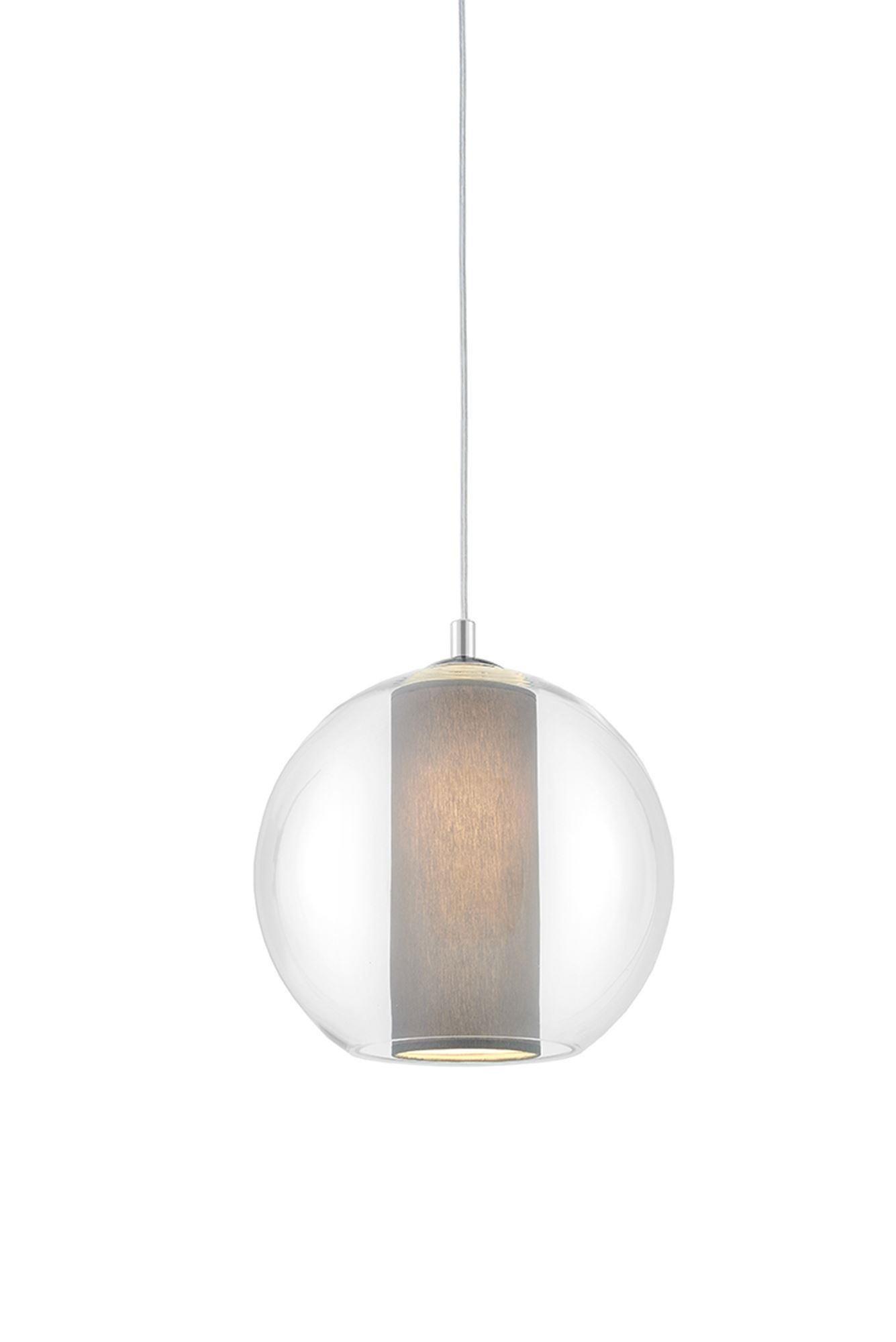 KASPA :: Lampa wisząca Merida S szara