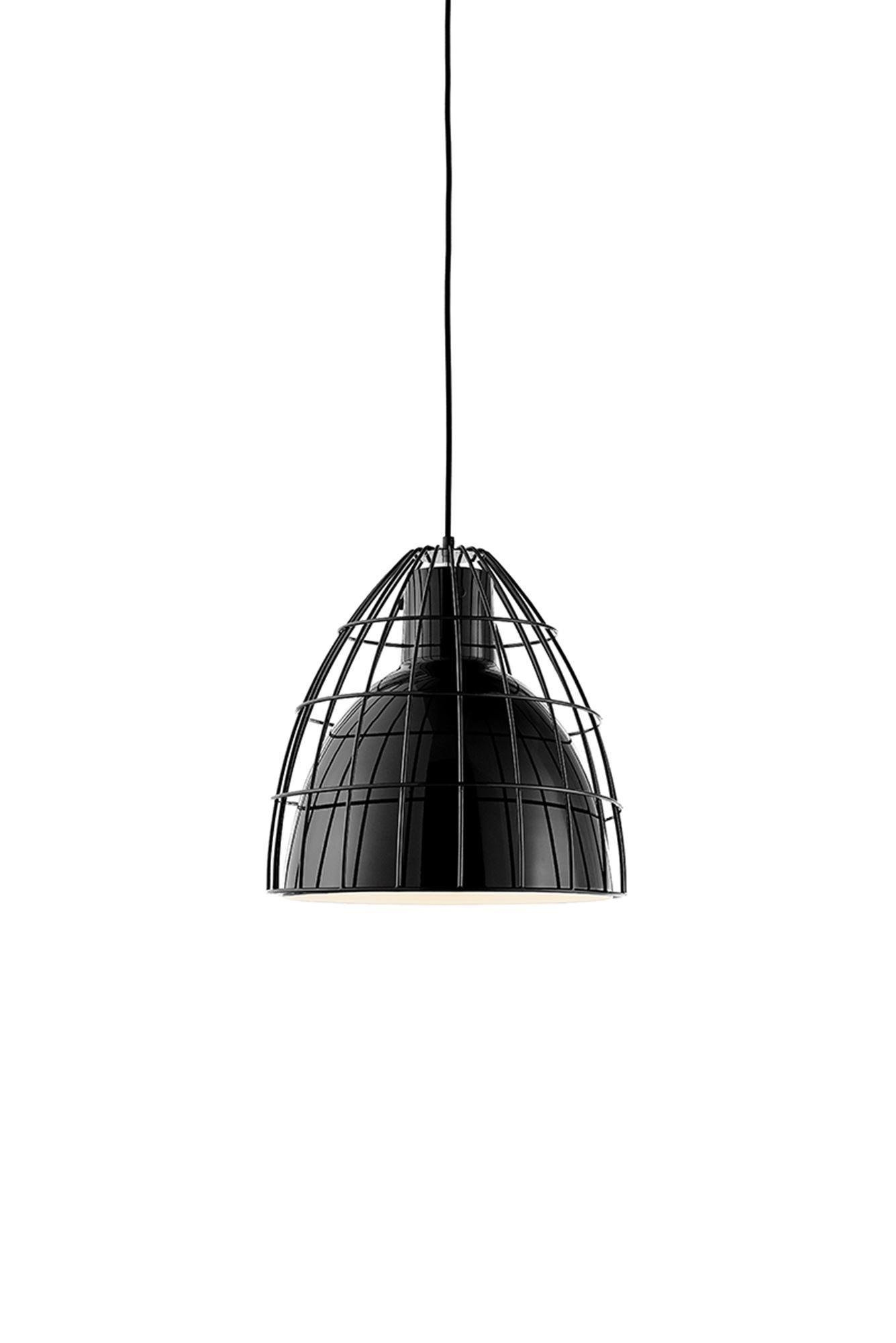 KASPA :: Lampa wisząca Frame L czarna