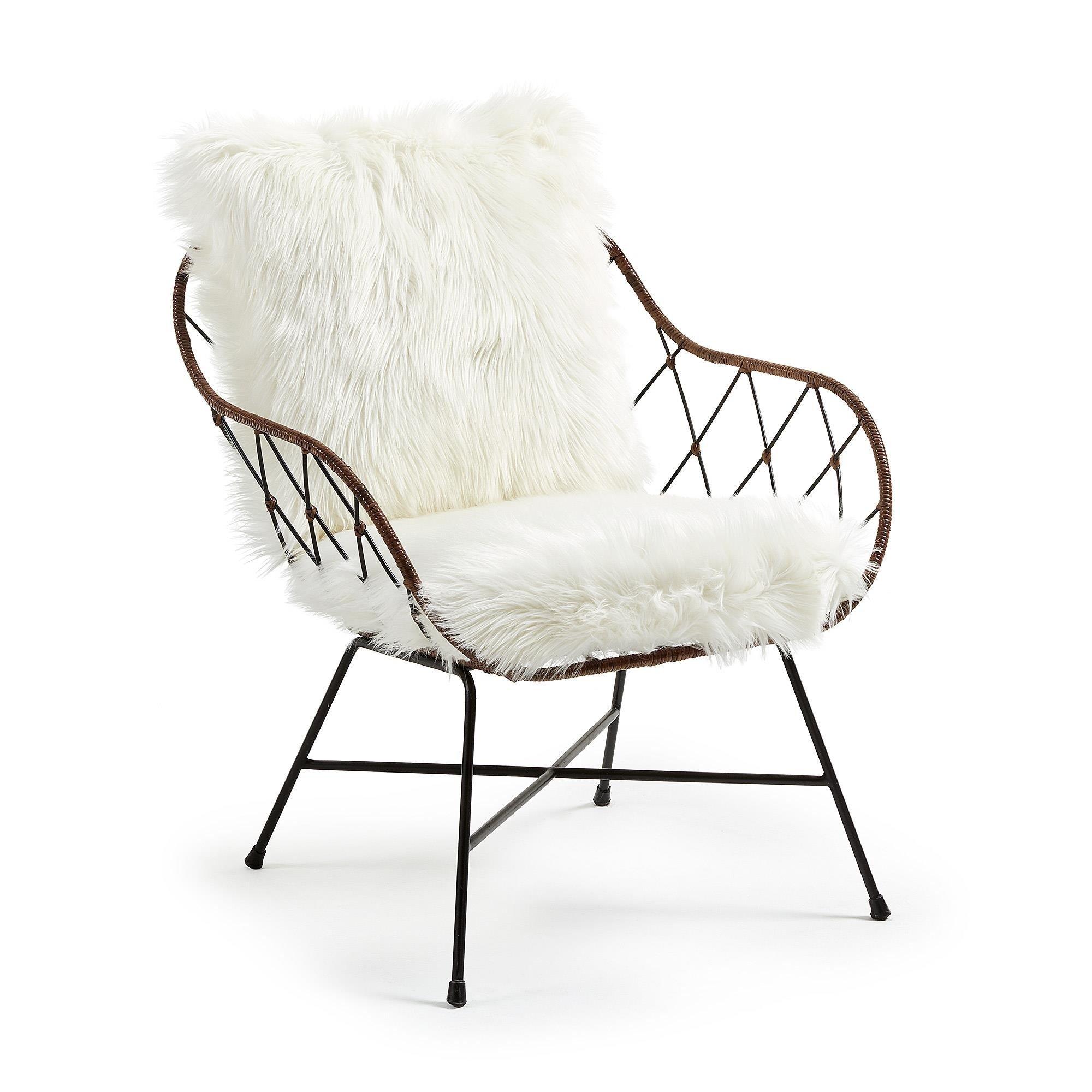 Fotel CELAYA biały