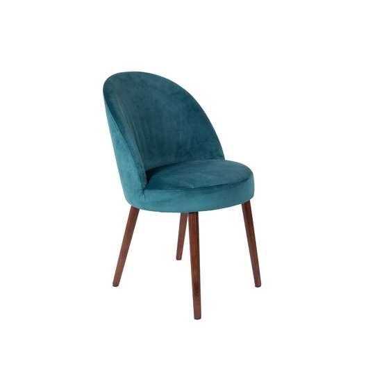 Dutchbone :: Krzesło BARBARA niebieskie