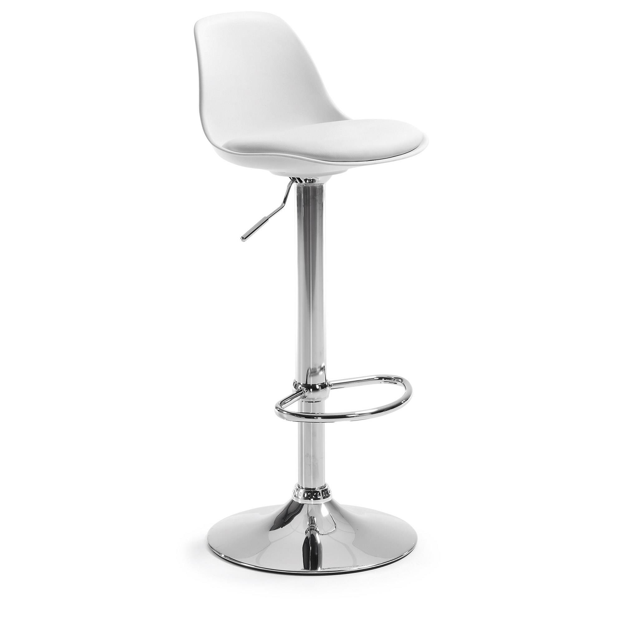 Hoker / Krzesło barowe ORLANDO biały