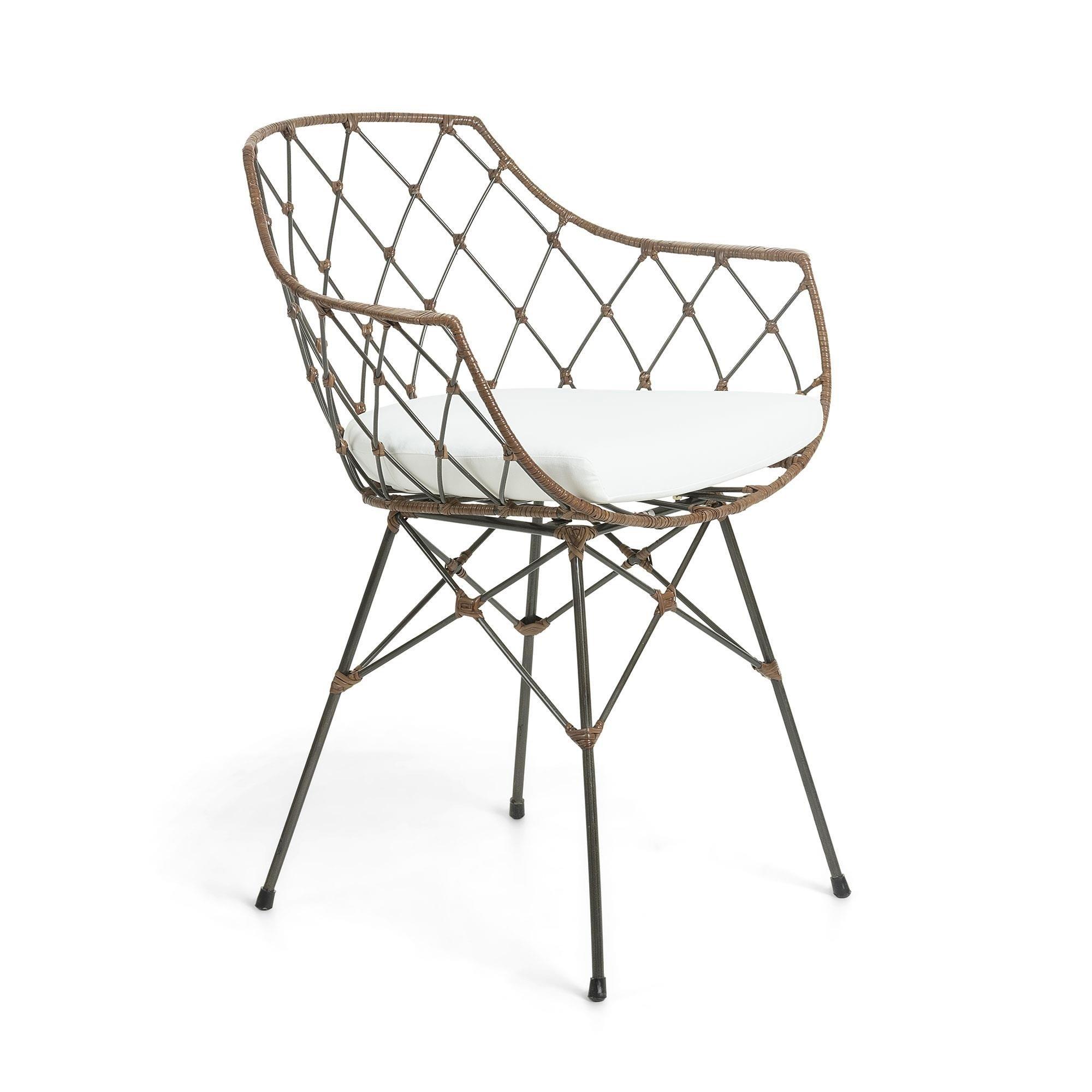 Krzesło COOPER 63x59 kolor biały