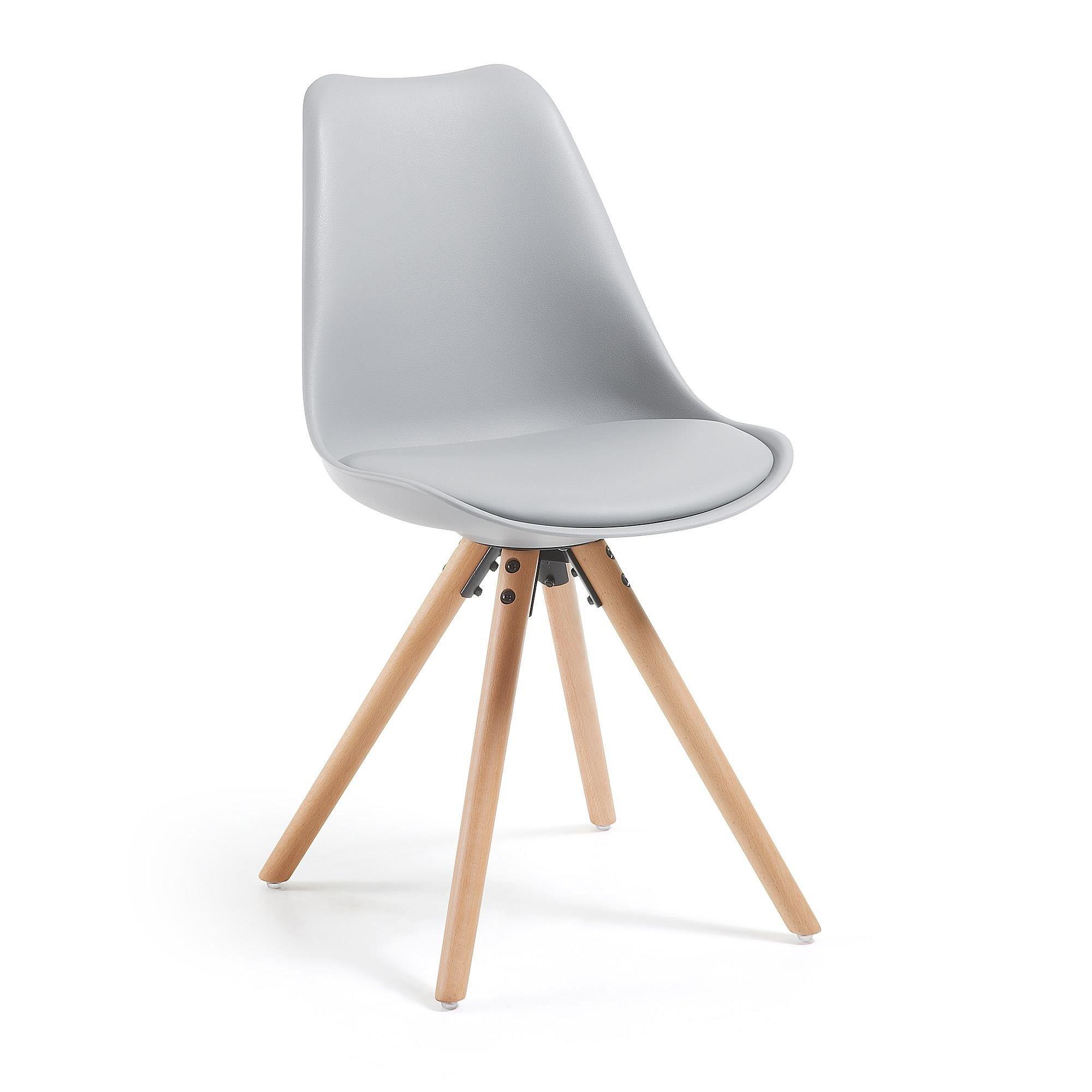 Krzesło Gemini szare