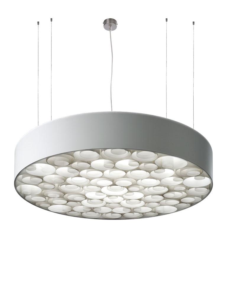 LZF :: Lampa wisząca Spiro z akrylem duża