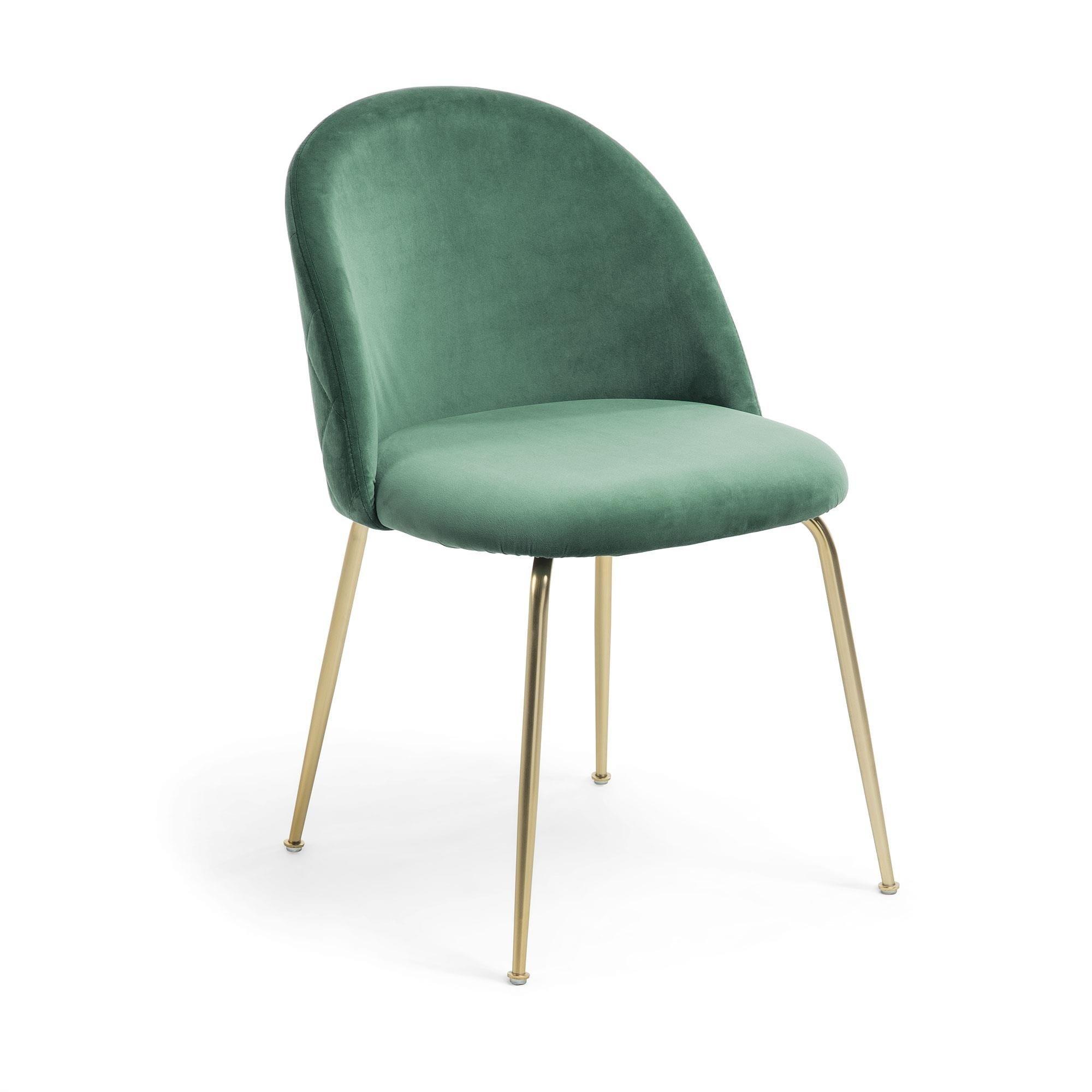 Krzesło metalowe MYSTERE zielone