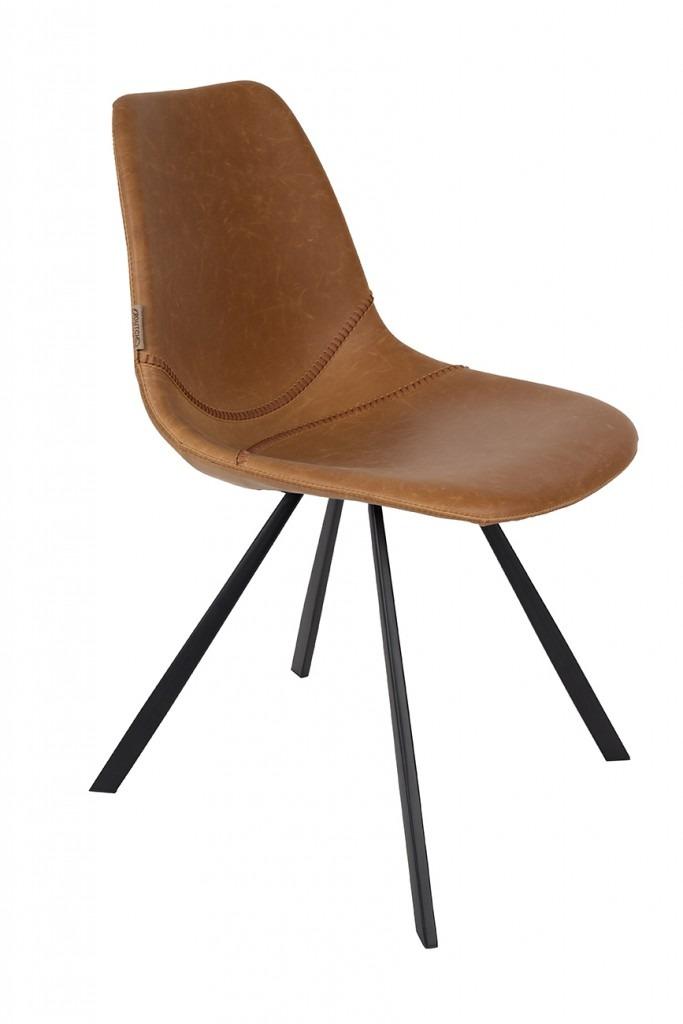 Dutchbone :: Krzesło FRANKY Brązowe
