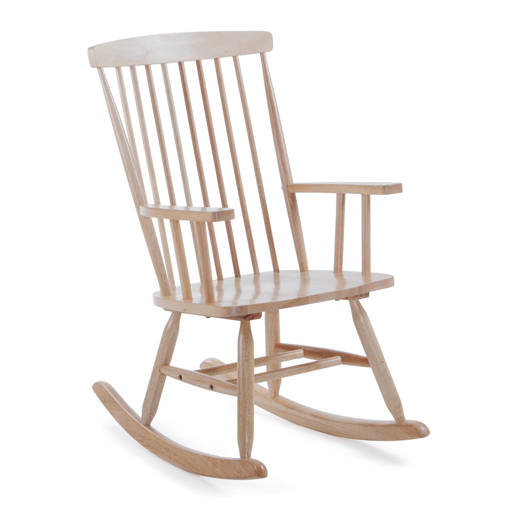 Fotel bujany Terence drewniany