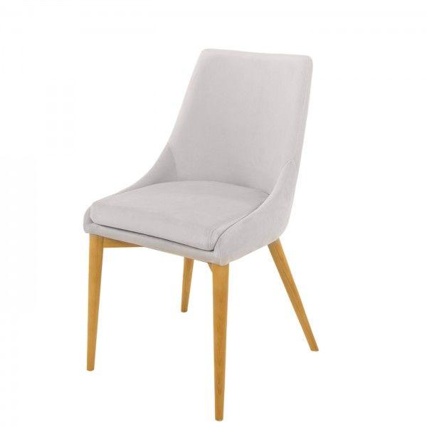 Krzesło JONES jasnoszare