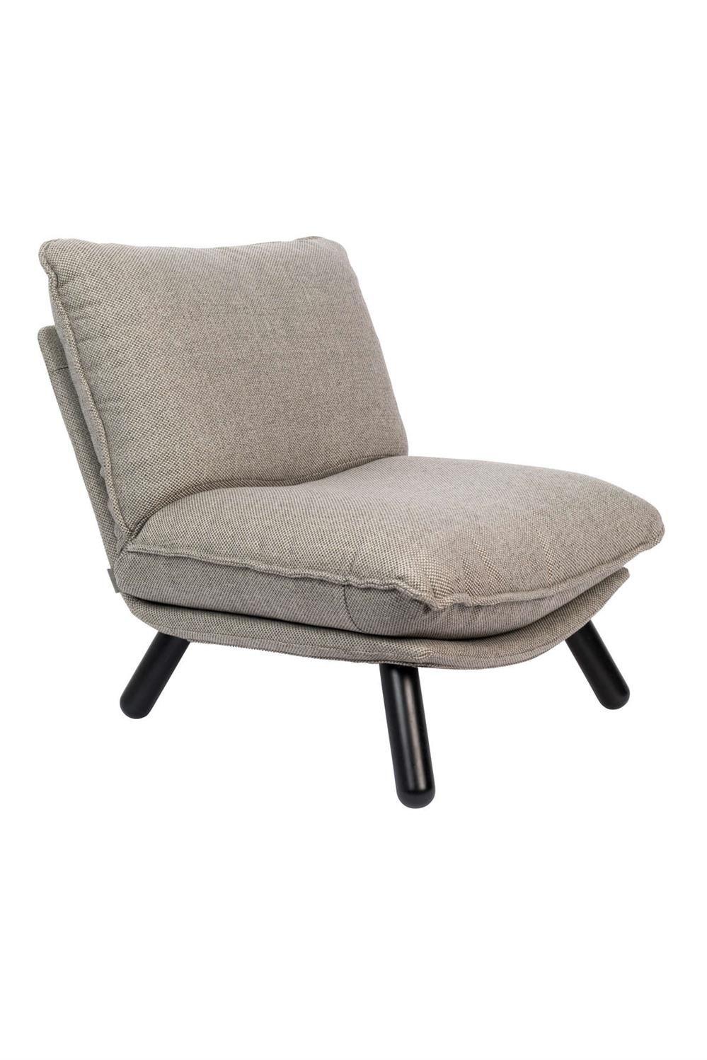 Fotel lounge LAZY SACK jasnogrey