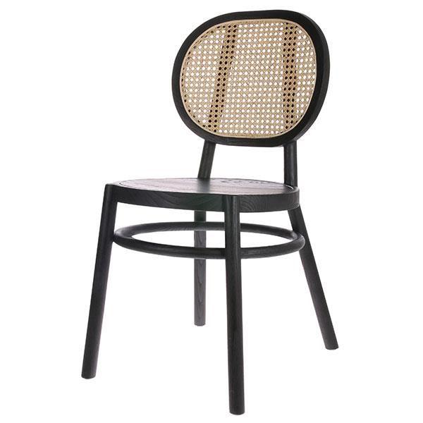 Krzesło Retro czarne