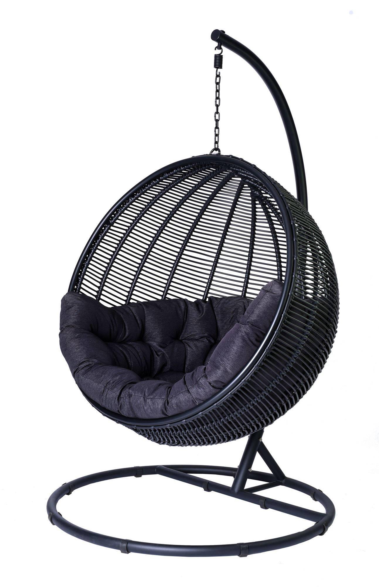 Miloo :: Fotel wiszący Cocoon De Luxe czarny