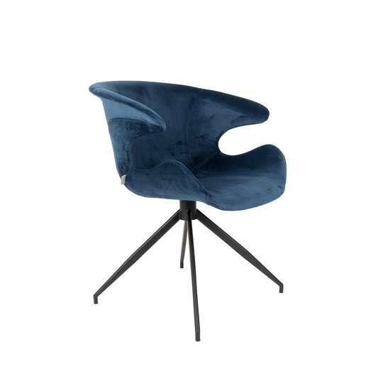 Zuiver :: Krzesło MIA niebieskie
