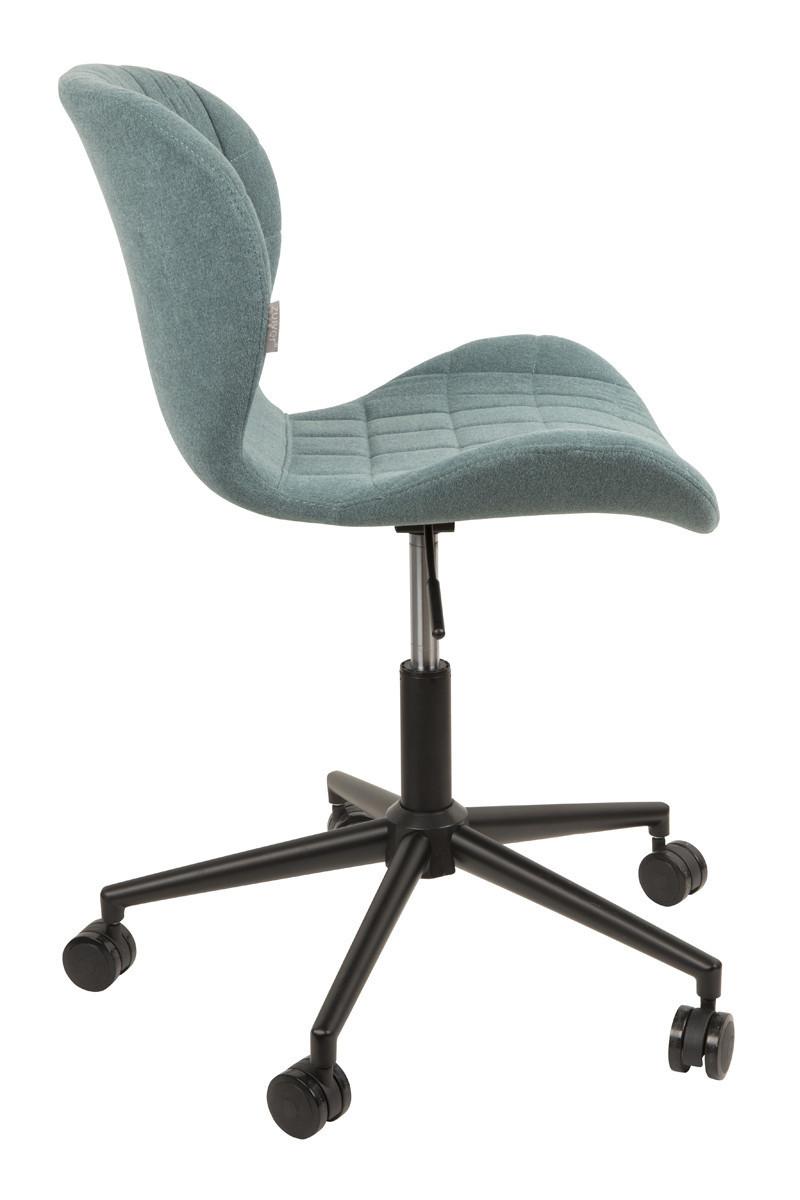 Zuiver :: Krzesło biurowe OMG niebieskie