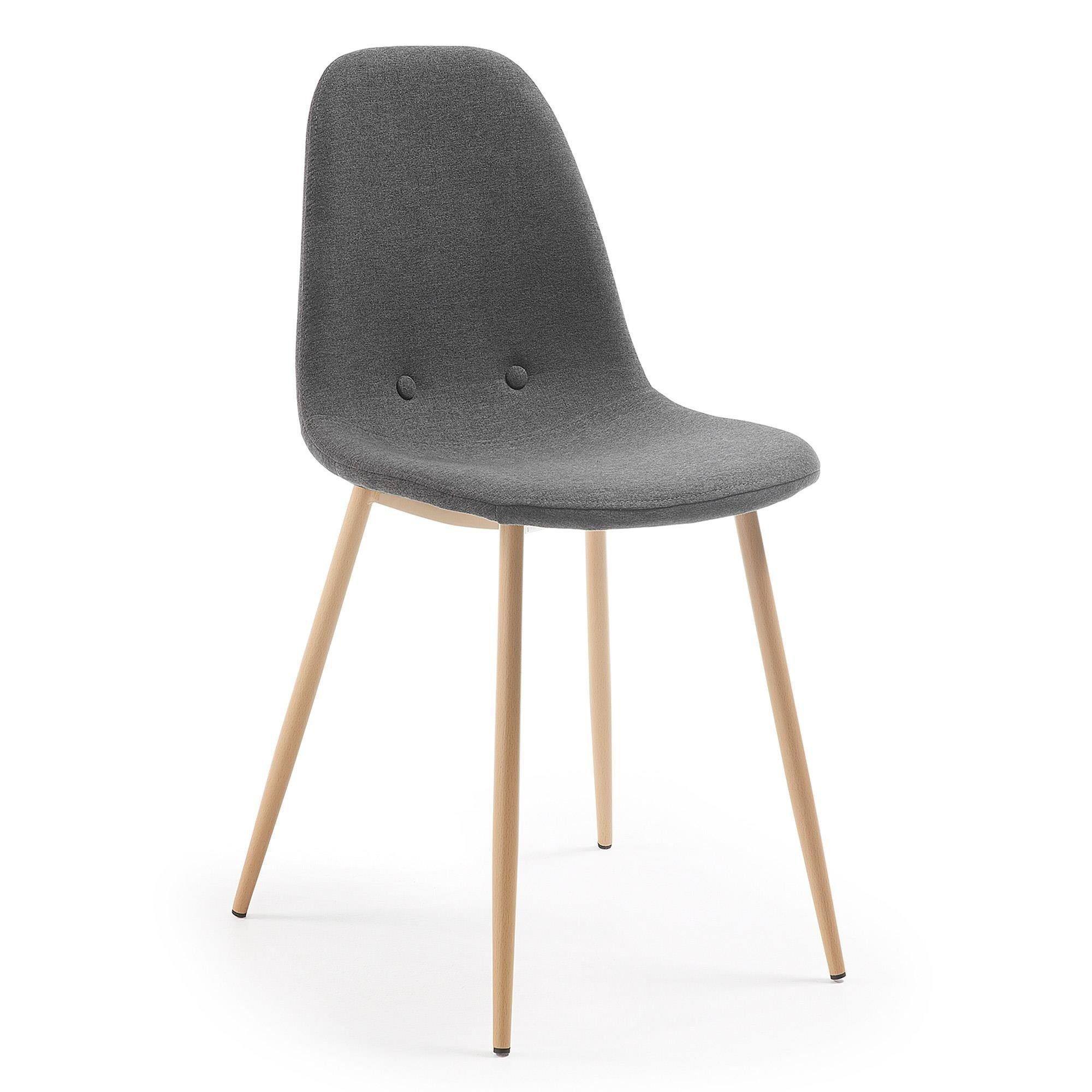 Krzesło SUNCHA ciemnoszare
