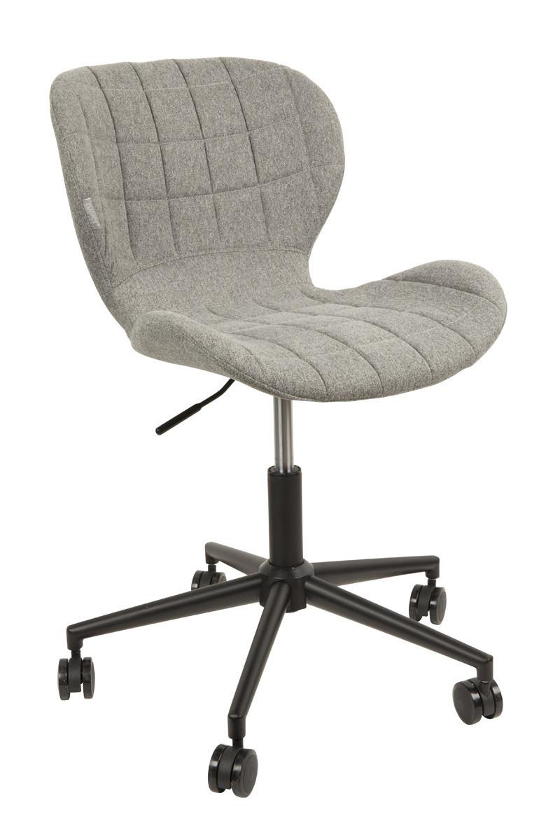Zuiver :: Krzesło biurowe OMG jasnoszare