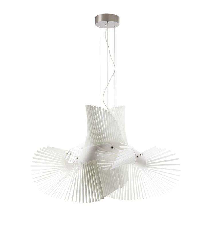 LZF :: Lampa sufitowa Mikado 70x50 biała
