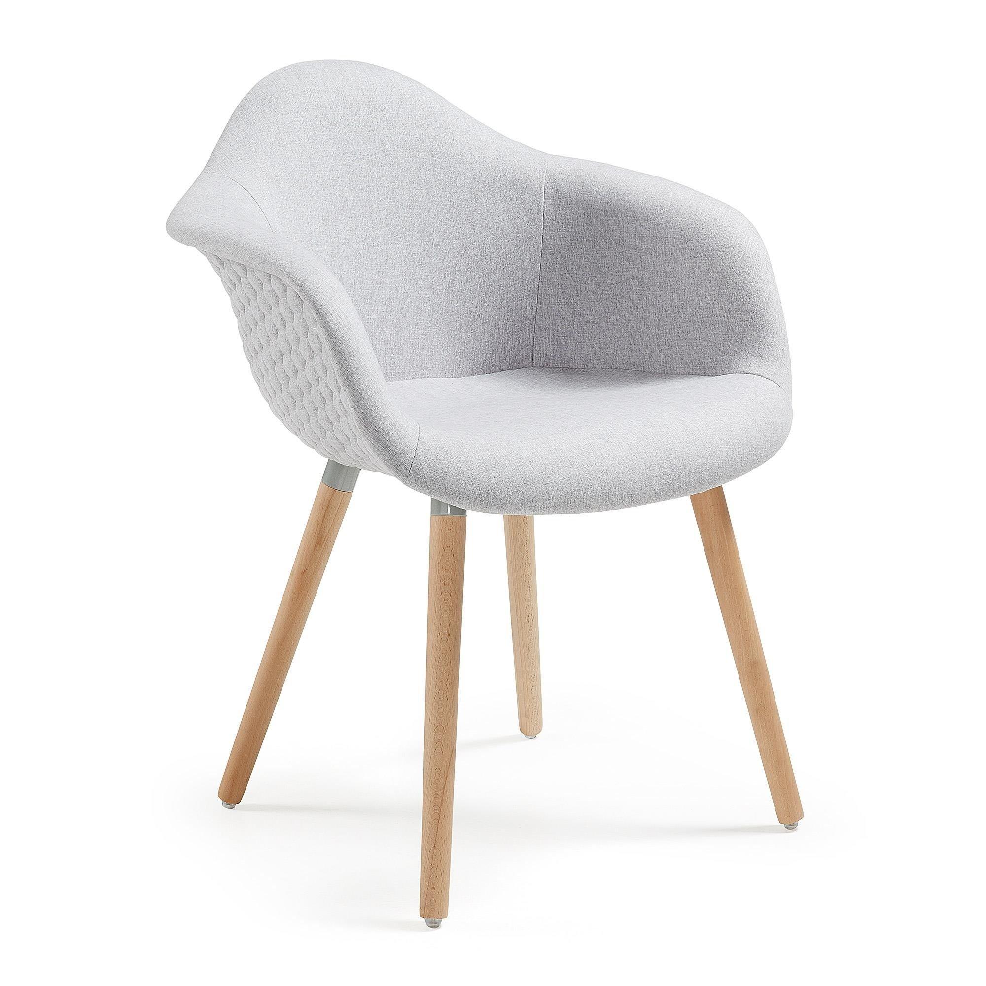 Krzesło TOME jasnoszare