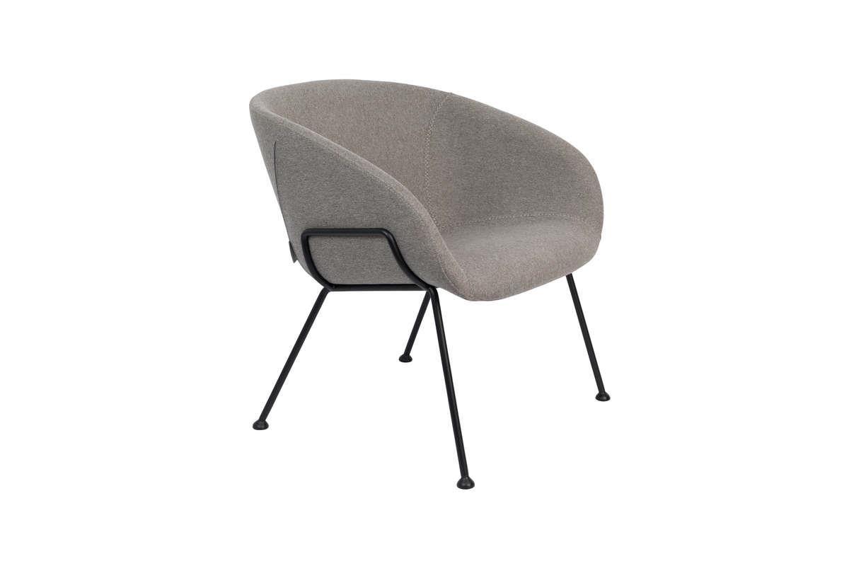 Fotel lounge FESTON grey