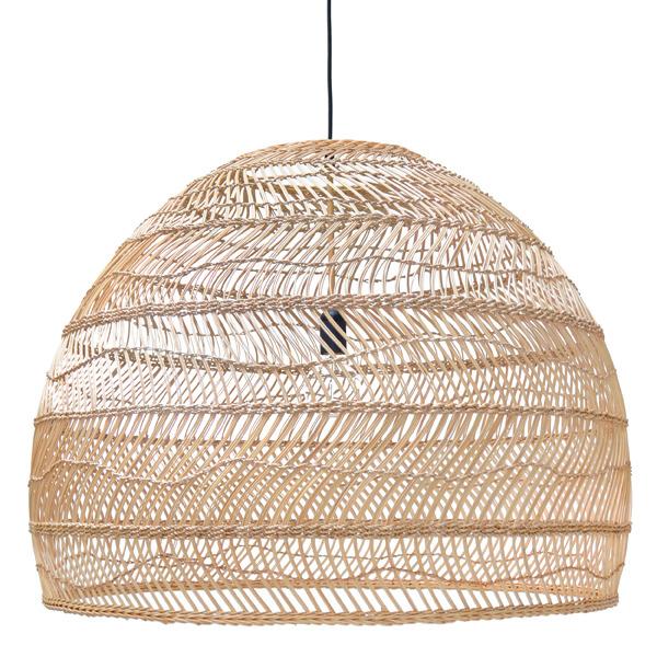 HK Living :: Lampa wisząca wiklinowa L ?80cm