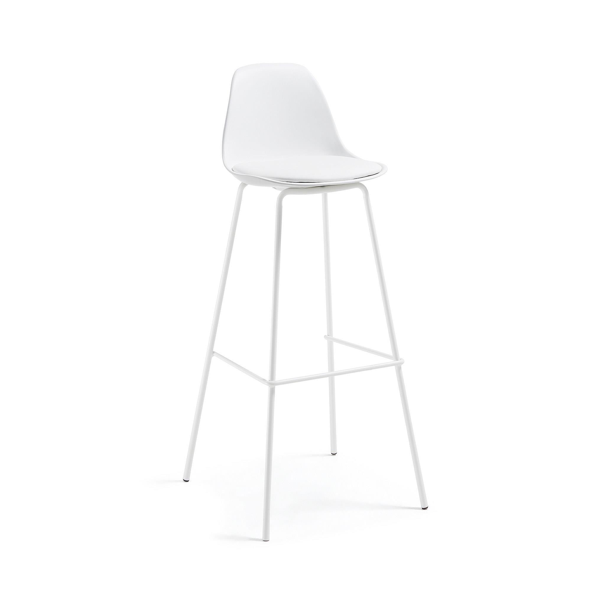 Hoker / Krzesło barowe LYRIA biały