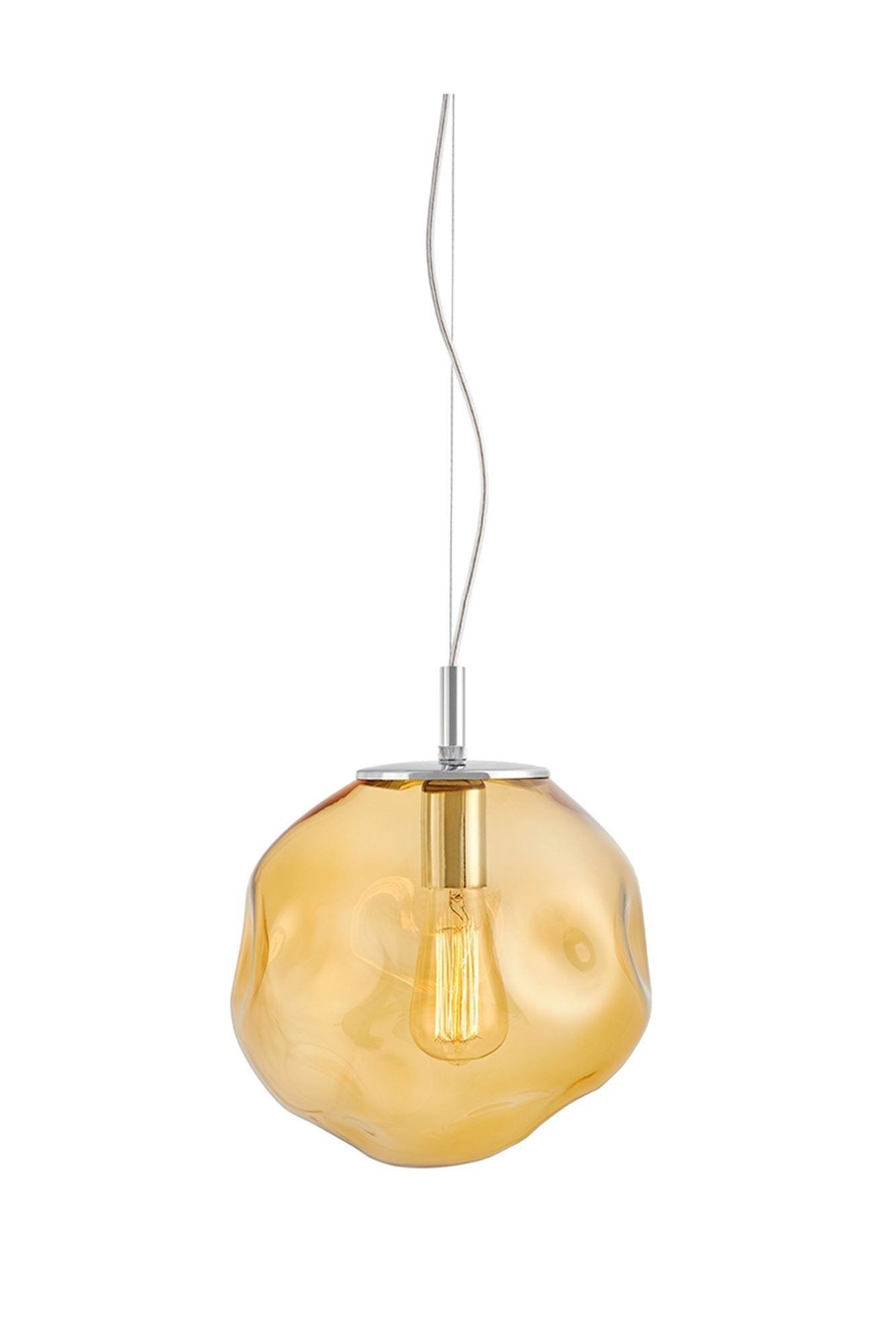 KASPA :: Lampa wisząca Avia M - bursztynowa