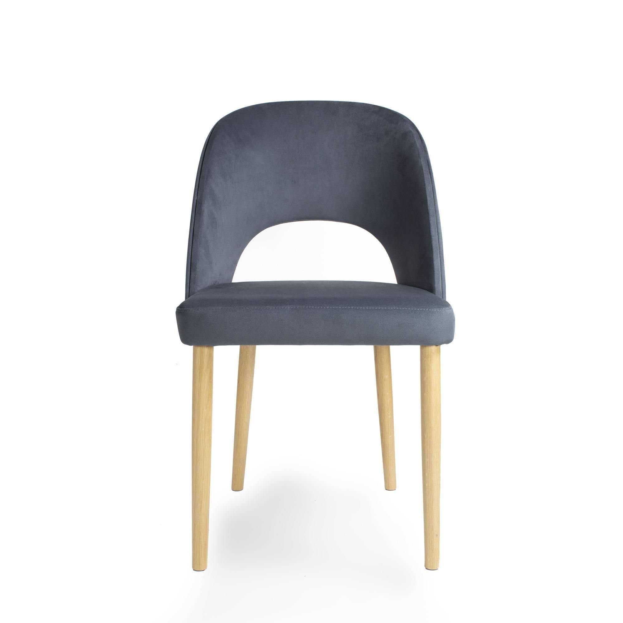 FAMEG :: Krzesło A-1412 dąb naturalny / tkanina tokyo T118