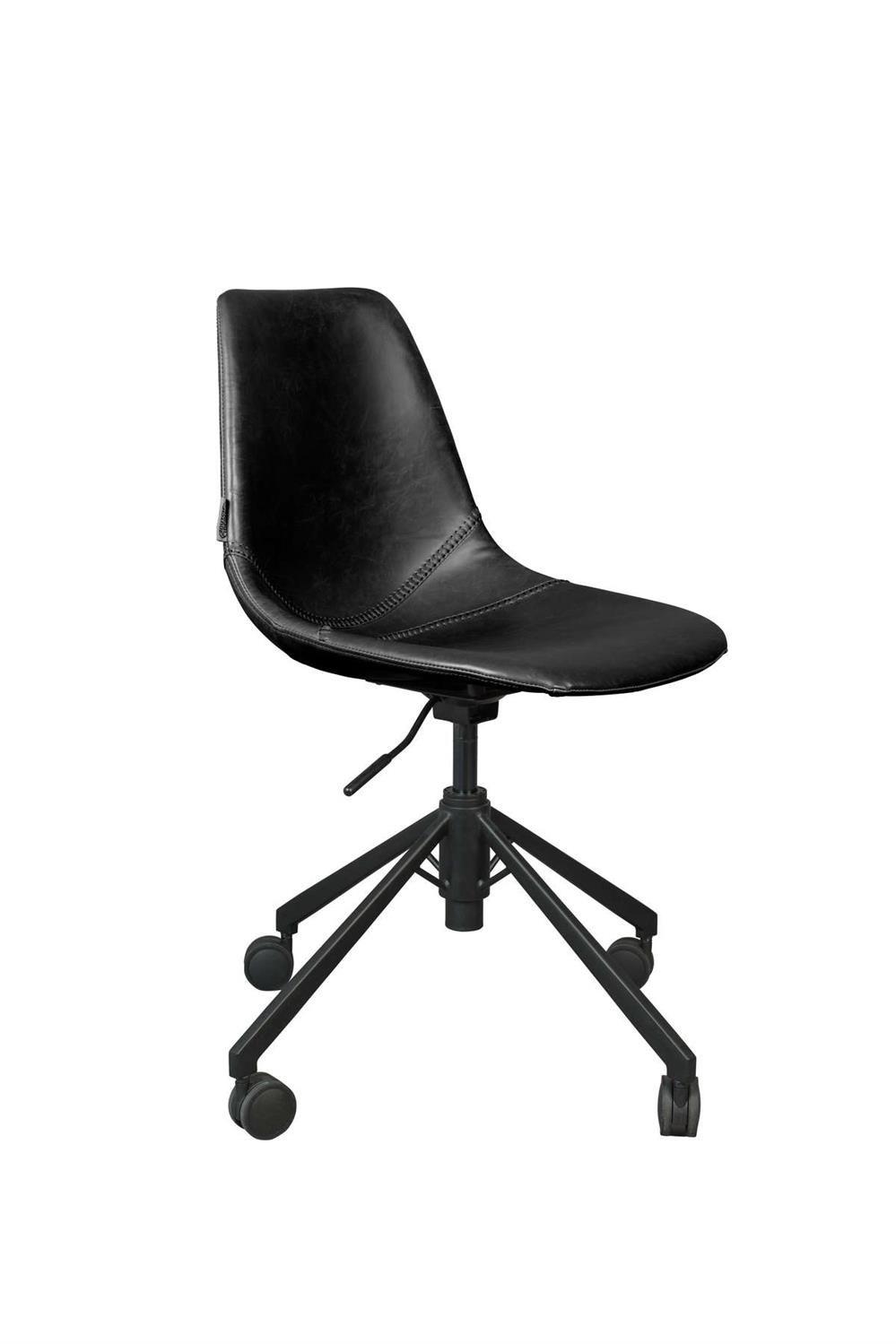 Dutchbone :: Krzesło biurowe Franky czarne