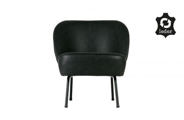 Be Pure :: Fotel skórzany Vogue czarny