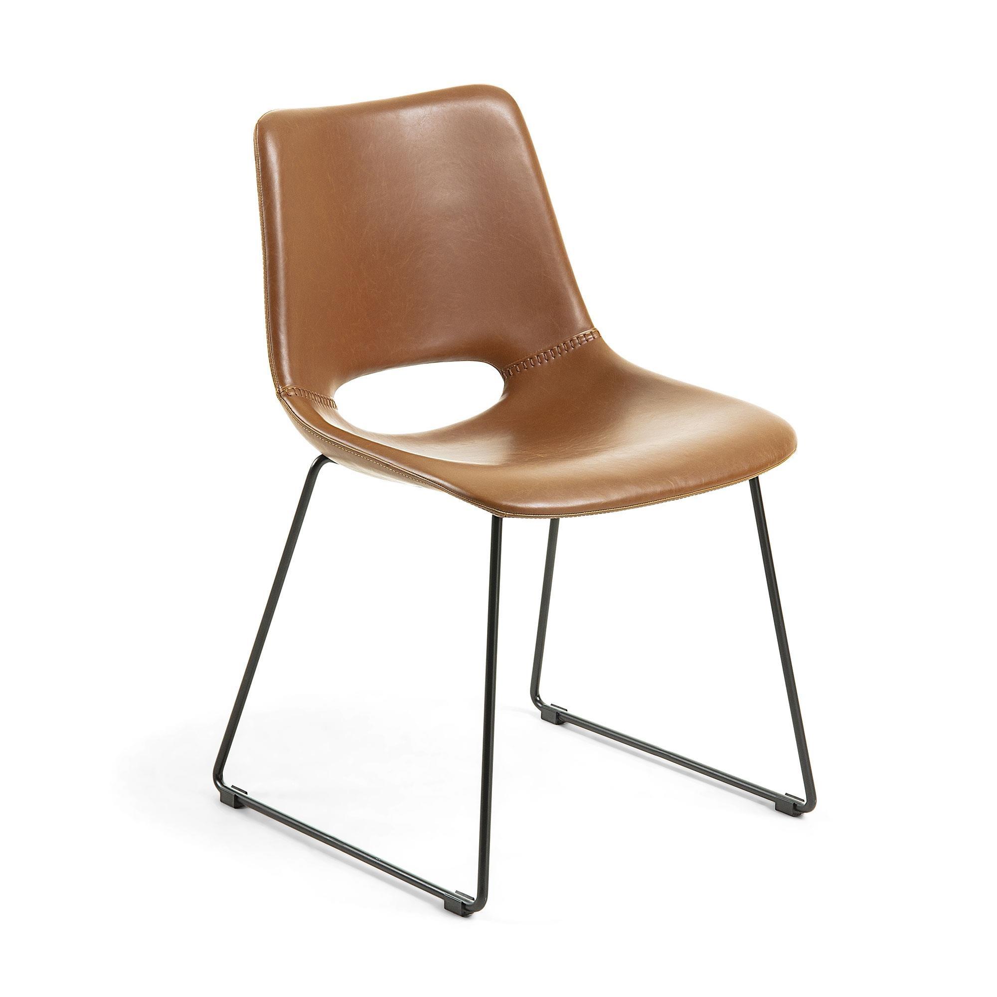 Krzesło HOLGEN 49x55 kolor brązowy