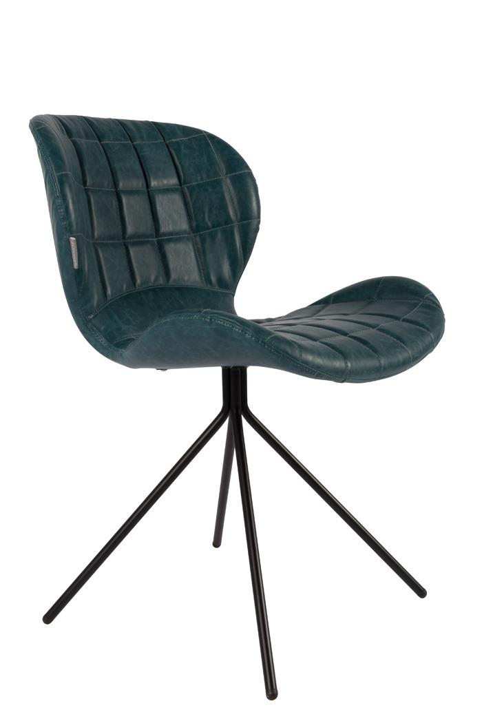 Zuiver :: Krzesło OMG LL Petrol