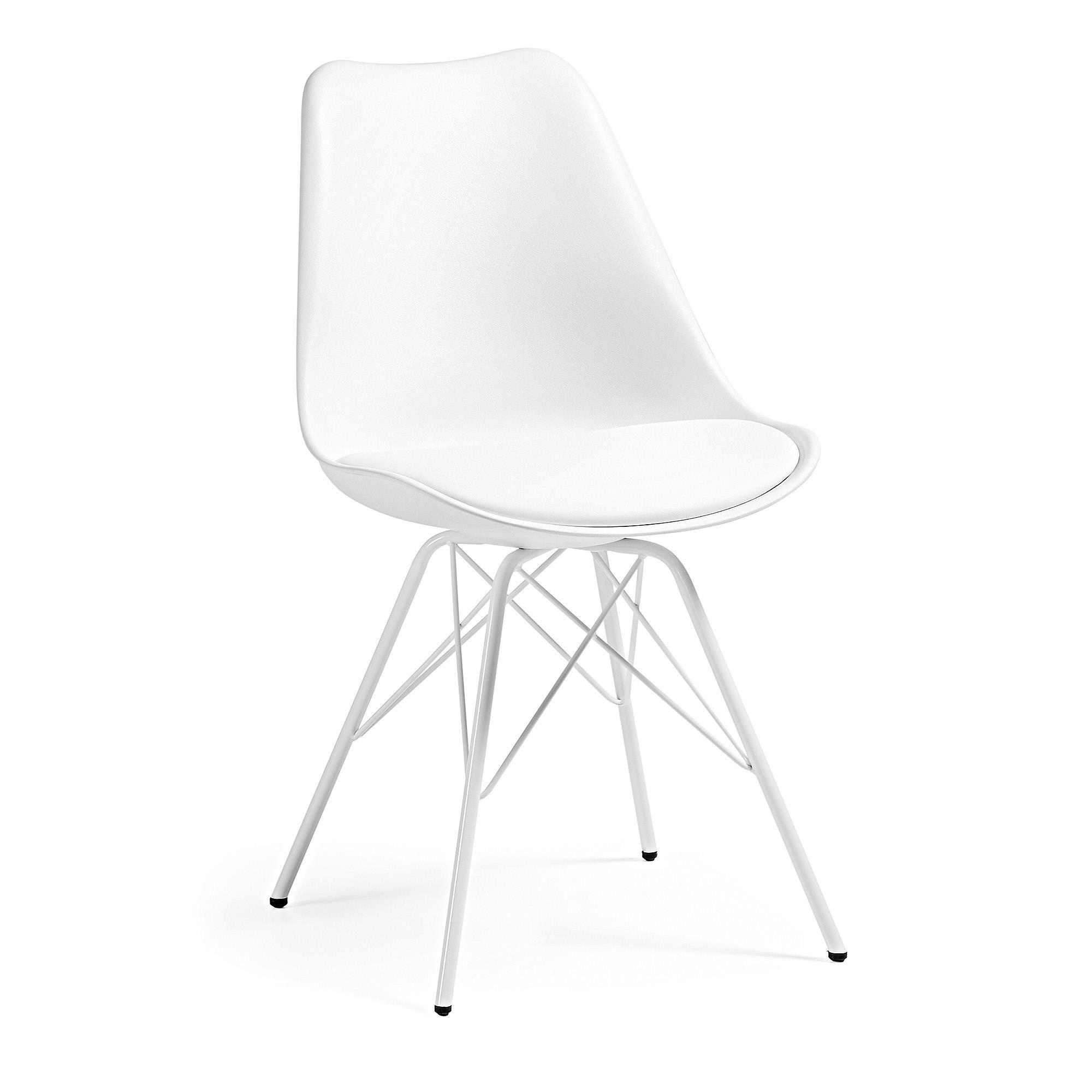 Krzesło Gemini białe