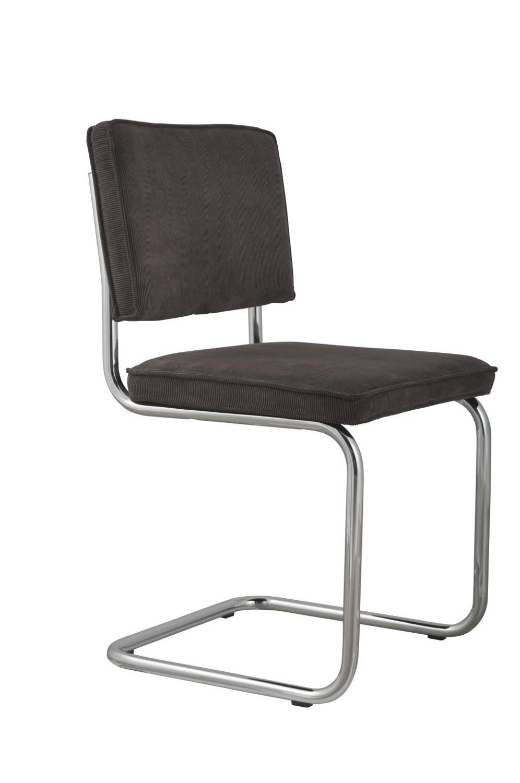 Zuiver :: Krzesło Ridge Rib Ciemnoszare