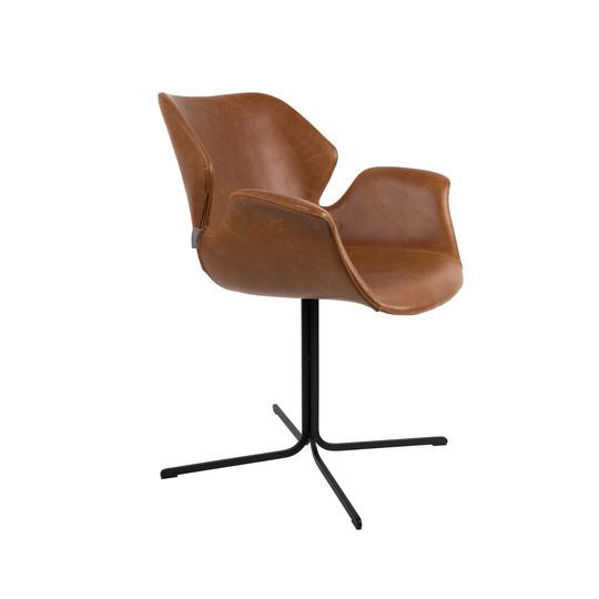 Zuiver :: Krzesło Nikki - brązowe
