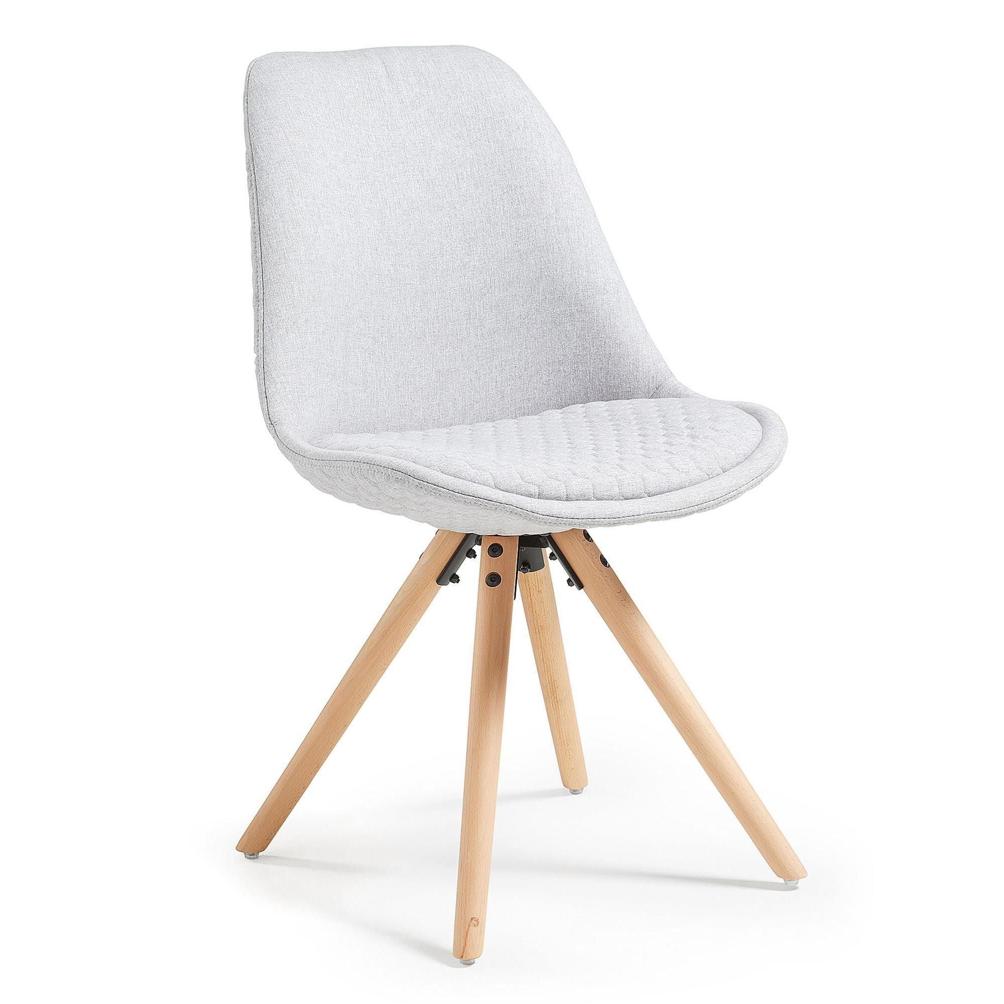 Krzesło Gemini jasnoszare
