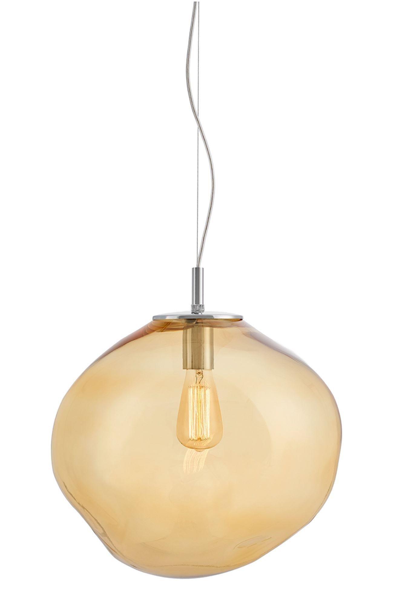 KASPA :: Lampa wisząca Avia L - bursztynowa