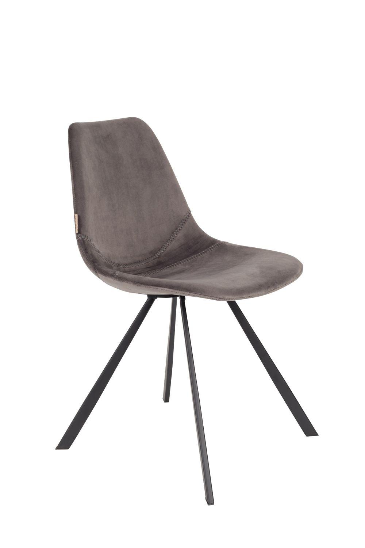 Dutchbone :: Krzesło Franky Szare
