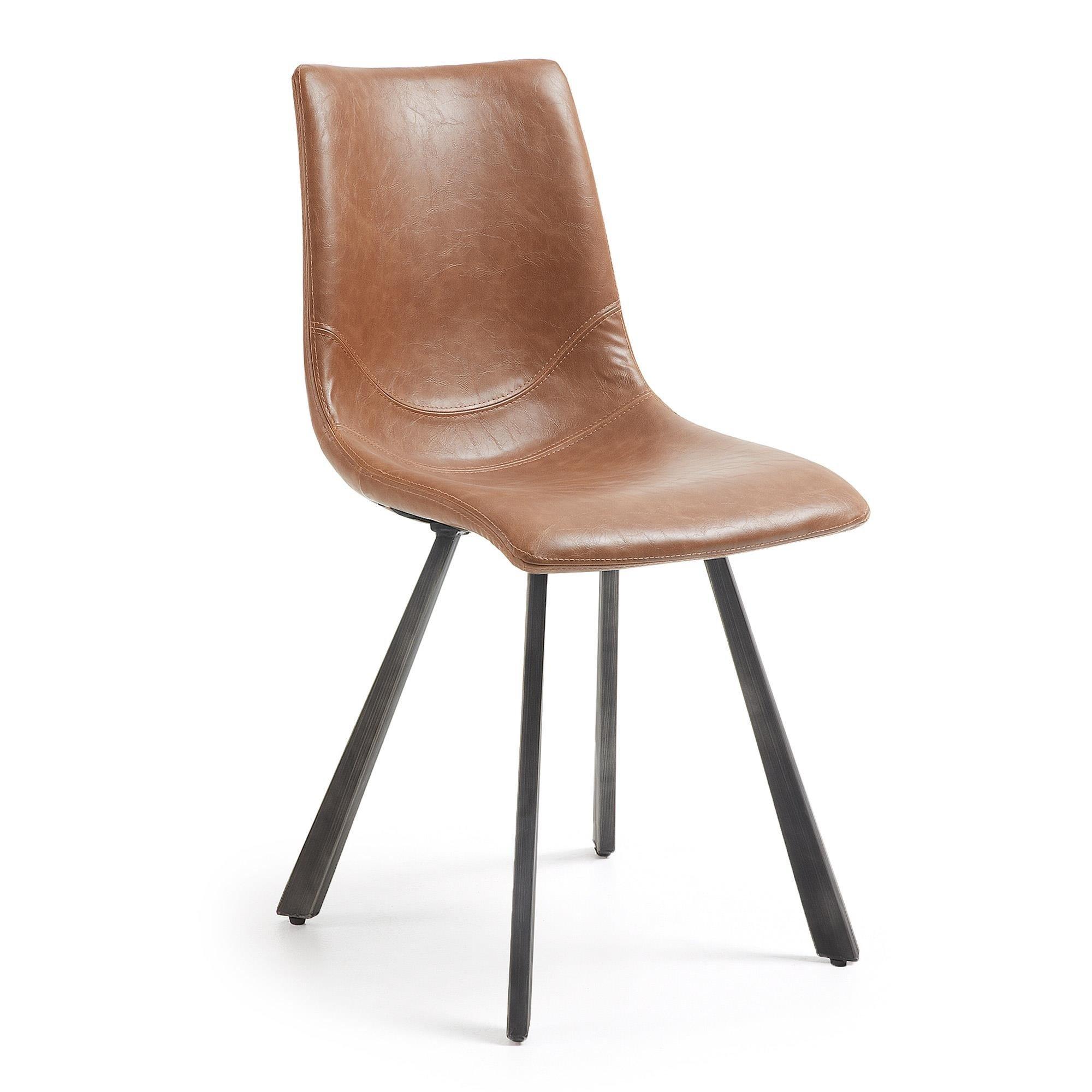 Krzesło PALABRA 45x49 kolor brązowy