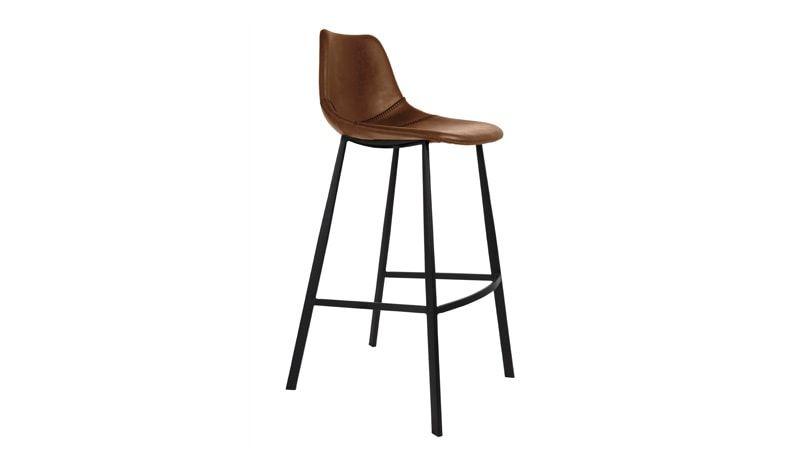 Dutchbone :: Hoker / krzesło barowe Franky brązowy