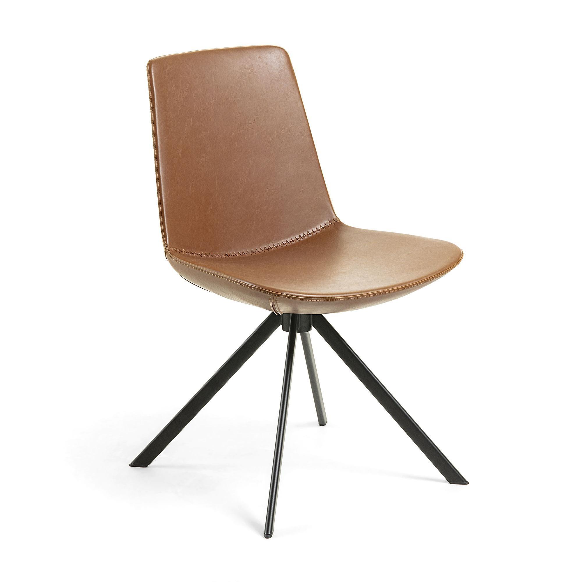 Krzesło TOKKA 50x56 kolor brązowy