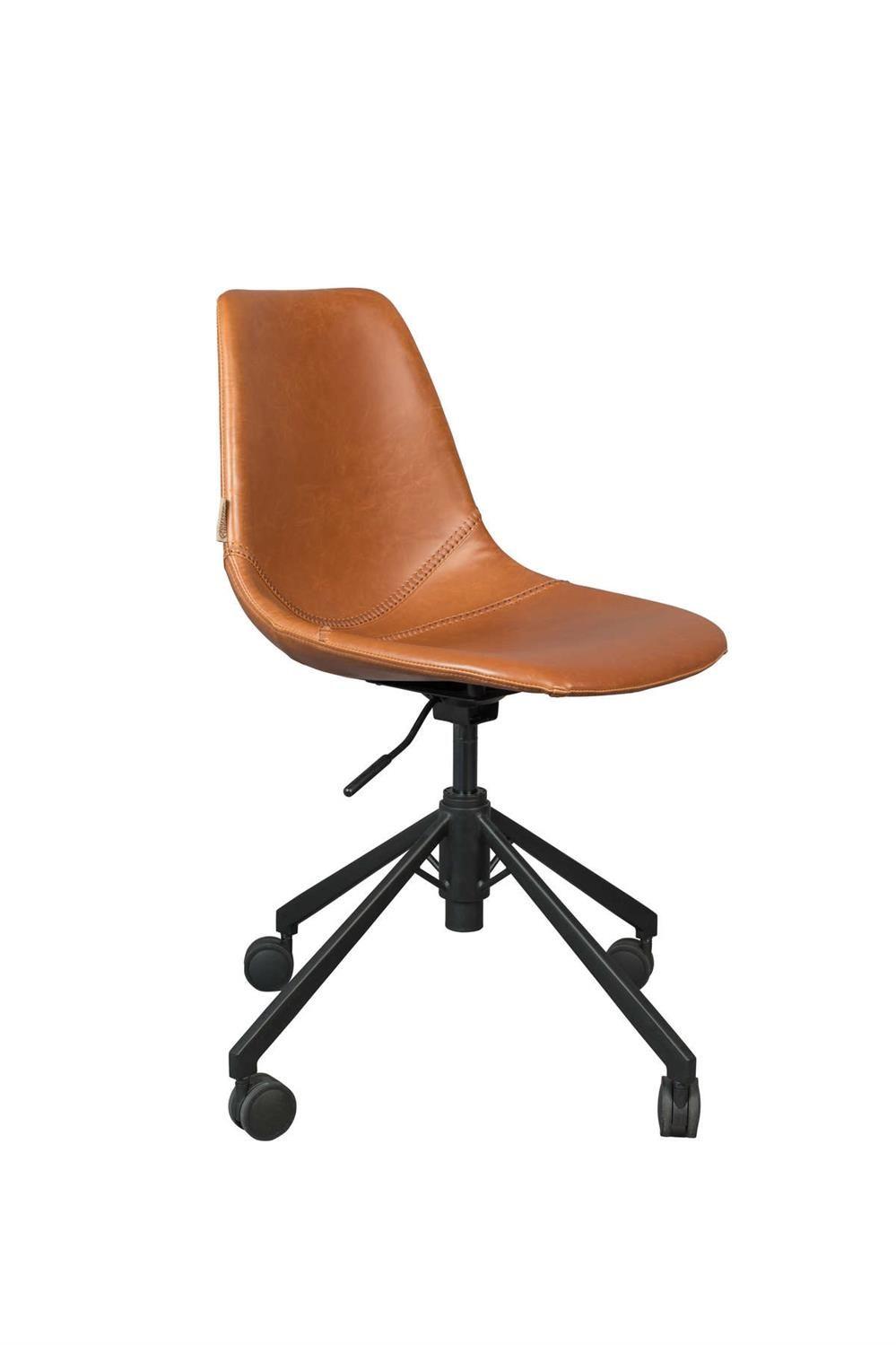 Dutchbone :: Krzesło biurowe Franky brązowe