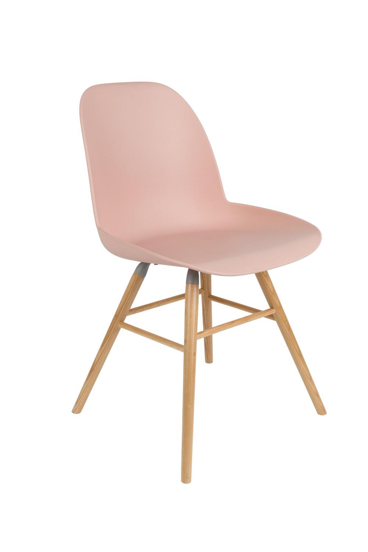 Zuiver :: Krzesło Albert Kuip - różowe