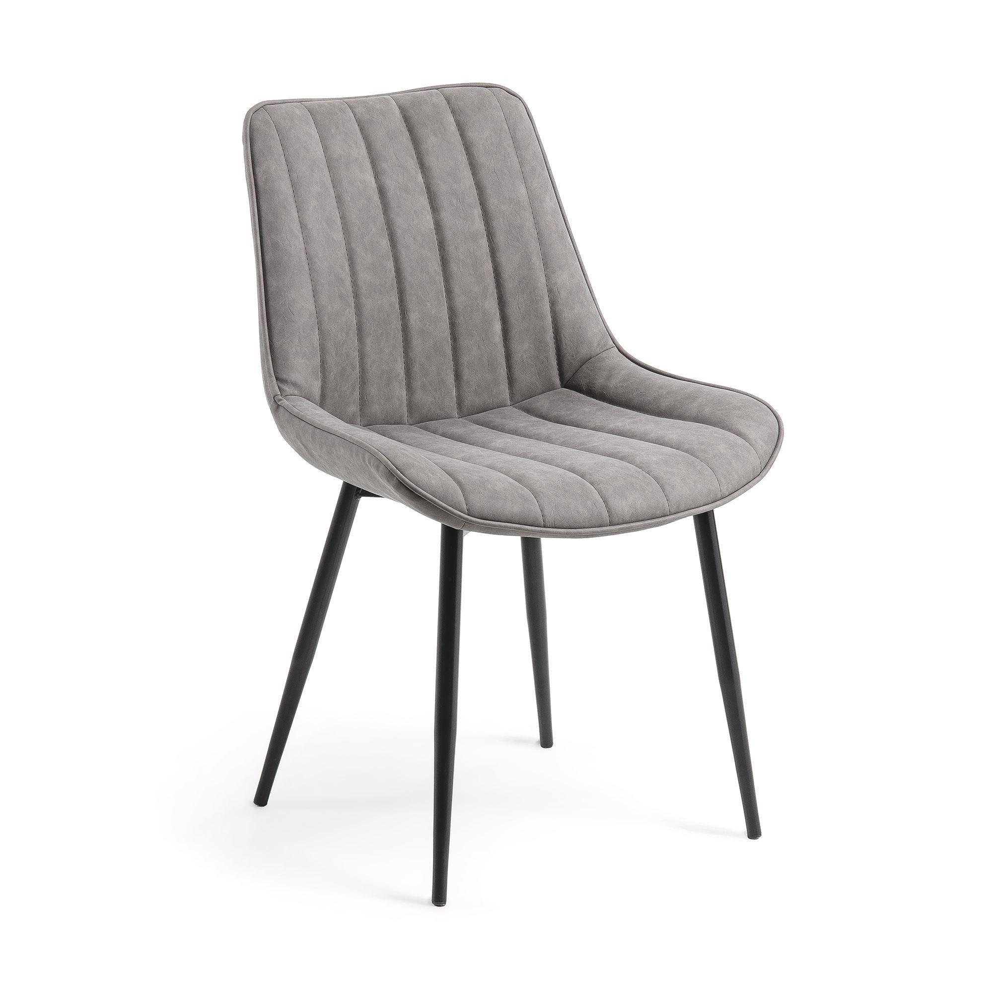 Krzesło Anant ciemnoszare