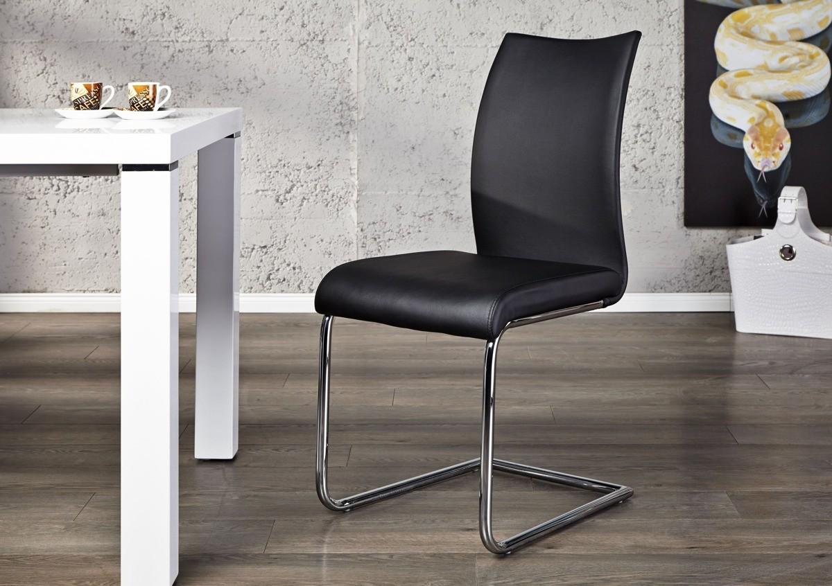 Krzesło Porto - czarne