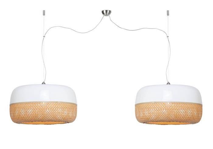 It's About RoMi :: Lampa wisząca Mekong H60 z podwójnym abażurem
