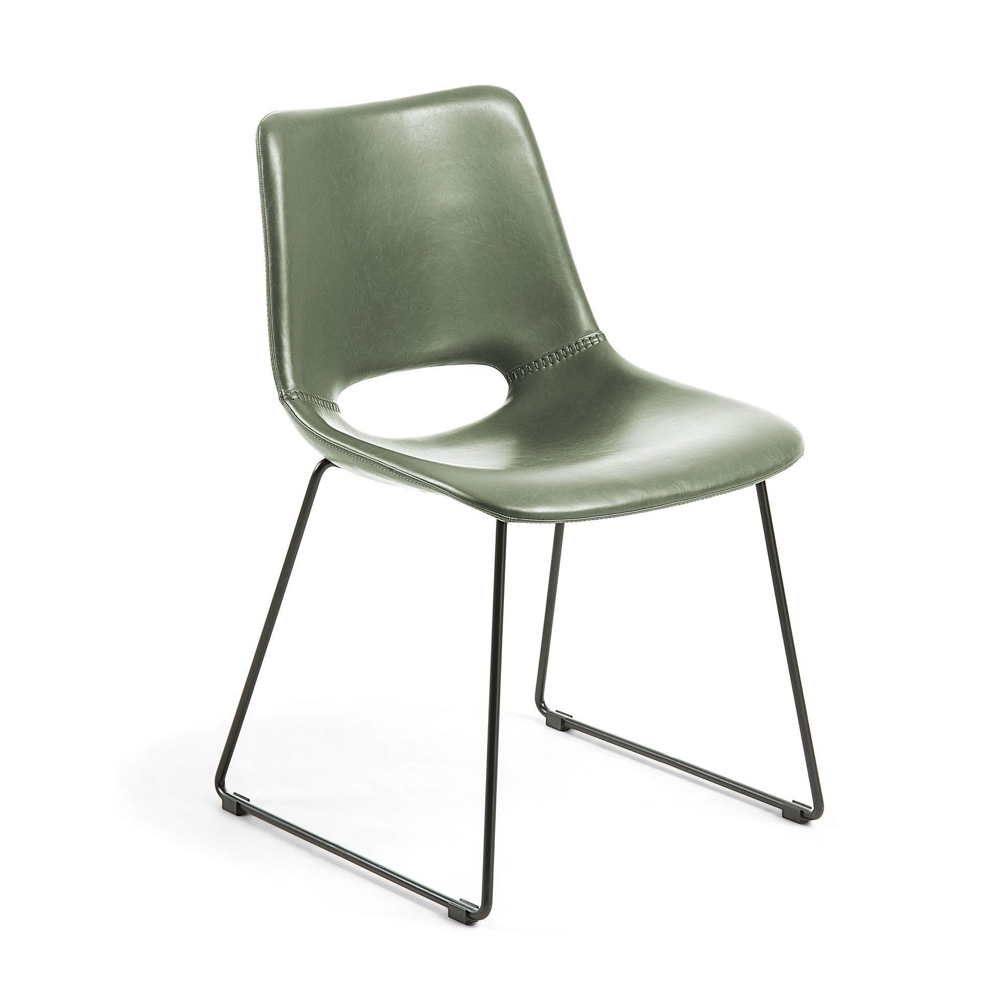 Krzesło HOLGEN 49x55 kolor zielony